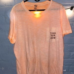 Victoria's Secret pink campus T-shirt